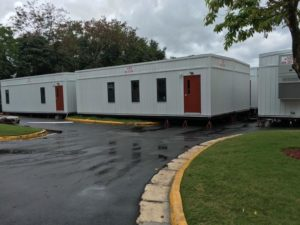 Nadler Modular Structures provide VA Hospital in San Juan critical temporary office buildings