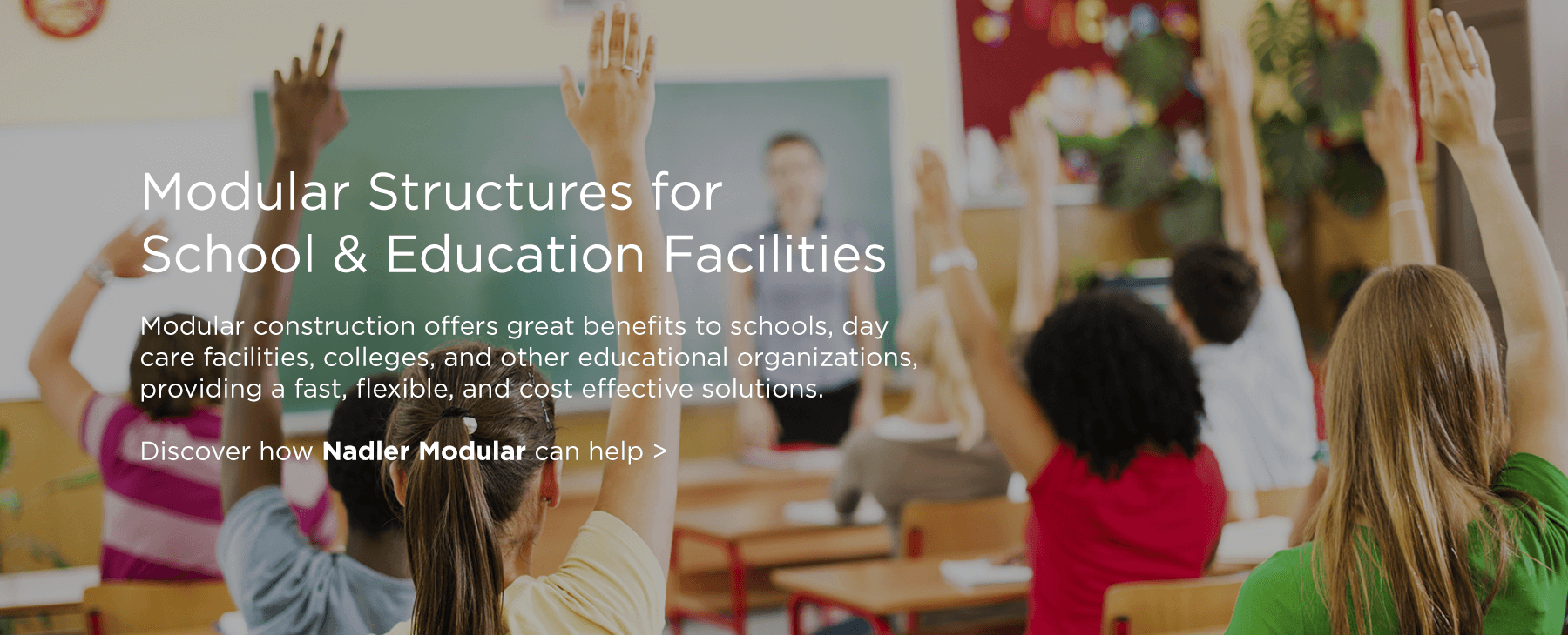 Modular Solutions for Instruction and Schools